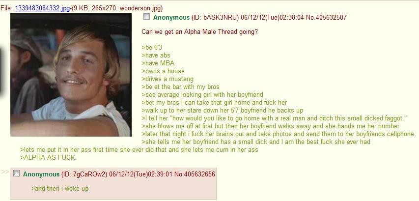 Alphamale 4chan