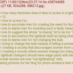 how many feminists does it take to change a lightbulb?